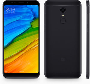 Мобилен телефон Xiaomi REDMI 5 PLUS DS BLACK MZB6053EU